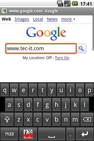 条码键盘:键入或扫描