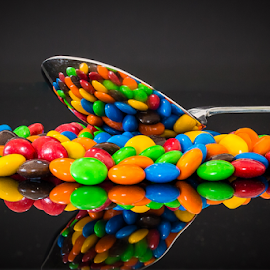 M&Ms by Ralph Brown - Artistic Objects Still Life