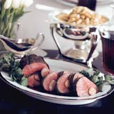 Beef Tenderloin with Red-Wine and Marrow Sauce
