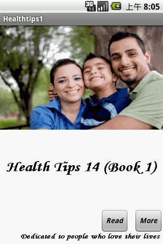 Health Tips 14 Book 1