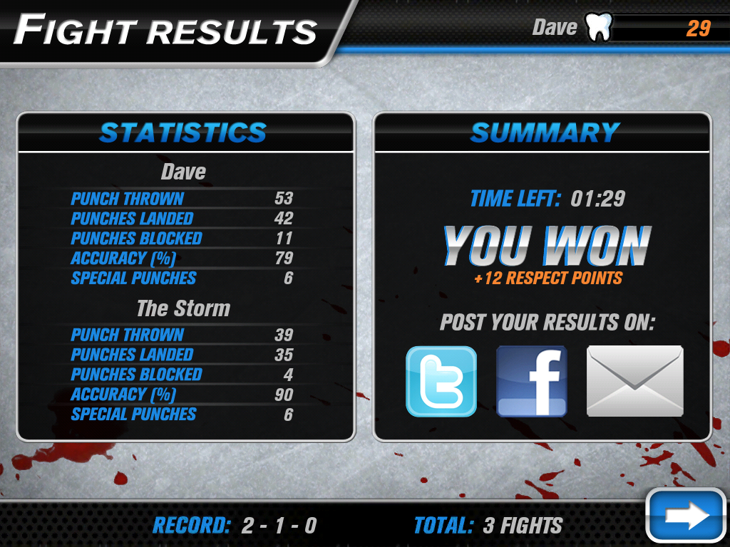 Hockey Fight Pro Screenshot 11