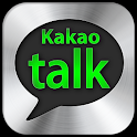 KakaoTalk Black Silver Theme! icon