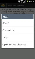 Screenshot of Temp Root Remover (2.1 - 4.0)
