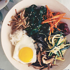 Korean Vegetable Rice Bowl