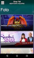 Screenshot of SINAR