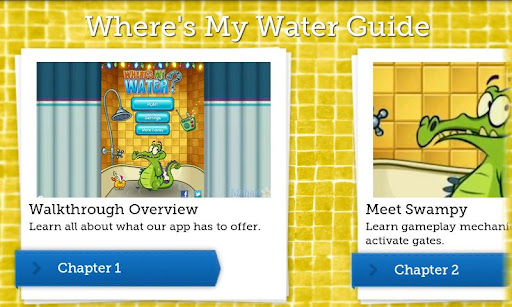 Where's My Water Walkthrough