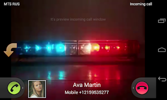 Screenshot of Video Caller Id