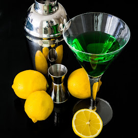 cocktail time by Michael Strier - Food & Drink Alcohol & Drinks ( drink, cocktail, yellow, lemon )