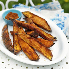 Smoky Sweet Potato Wedges