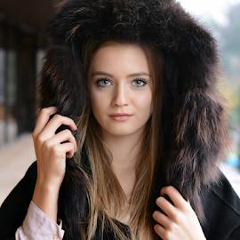 **** by Ivelin Zhelyazkov - People Portraits of Women ( style, wild hair, makeup, woman, art, varna photographer, natural light model, nikon, portrait )