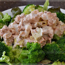 Artichoke and Jicama Tuna Salad