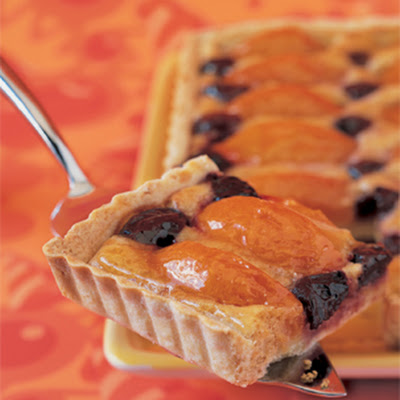 Almond, Apricot, and Cherry Tart