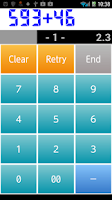 Screenshot of Mental Arithmetic Log Free