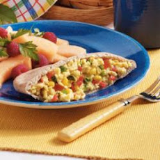 Confetti Scrambled Egg Pockets