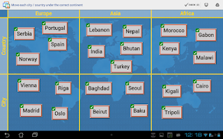 Screenshot of EtiGliss learning with labels