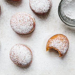 Cranberry-Ginger Jam Donuts