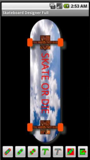 Skateboard Designer Free