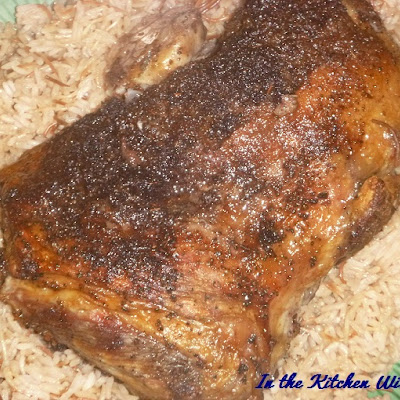 Oven Roasted Boneless Lamb Shoulder