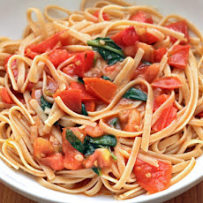 Alice Waters' Whole Wheat Pasta with Tomato Vinaigrette