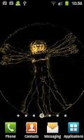 Screenshot of Da Vinci 3D Live Wallpaper