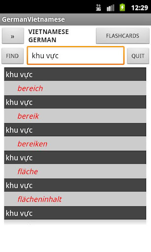 Vietnamese German Dictionary