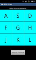 Screenshot of Wordoku Solver