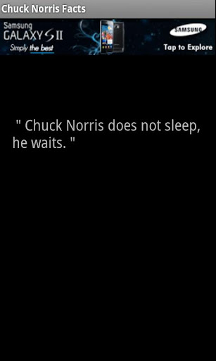 Chuck Norris Awesomeness