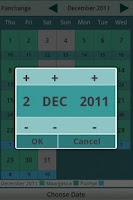 Screenshot of Hindu Calendar 2012
