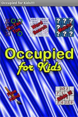 Occupied for Kids