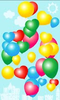 Screenshot of Colorful Balloons for kids