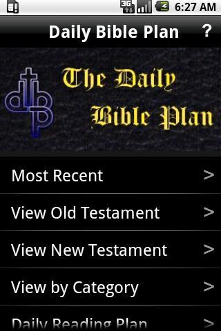 Daily Bible Plan Pro