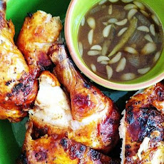My play on '50 Shades of Chicken' cookbook parody with Chicken Inasal!
