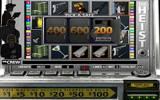 Screenshot of The Heist HD Slot Machine FREE