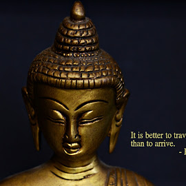 Wisdom by Prasanta Das - Typography Quotes & Sentences ( life, quote, journey, buddha )