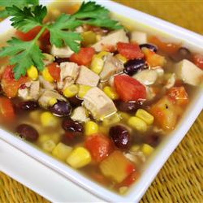 Six-Can Chicken Tortilla Soup
