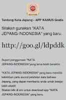 Screenshot of KATA JEPANG - INDONESIA
