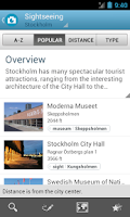 Screenshot of Stockholm Travel Guide Triposo