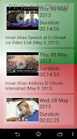 Screenshot of PTI Insaf Pakistan
