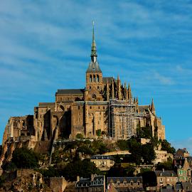 Mont Saint Michael by Tatiana Verčimáková - Buildings & Architecture Public & Historical ( old, building, architecture )