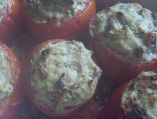 tomates farcies thon buée
