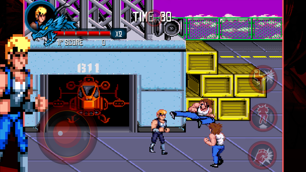 Double Dragon Trilogy Screenshot 1
