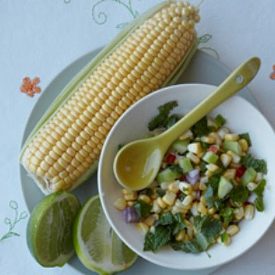 Light Summer Corn Salsa