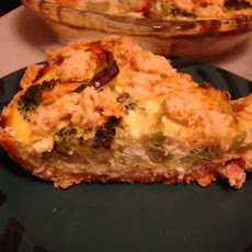 Broccoli, Ham & Cheese Pie