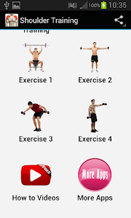 Shoulder Workout - screenshot