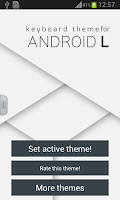 Screenshot of Keyboard Theme for Android L