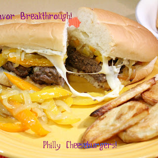 Philly Cheeseburgers!