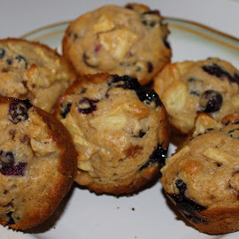 And to end the day.........fantastic muffins. by Denise Dunkley Hall - Food & Drink Cooking & Baking