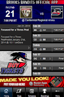 Screenshot of Brooks Bandits