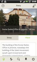 Screenshot of Memory of Nations Sites