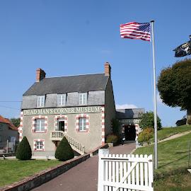 Dead Mans Corner Museum by Jan - Buildings & Architecture Public & Historical ( ww2, saint come-du-mont, 101st airborne, museums, d-day )